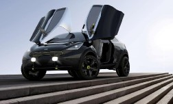 Компанией KIA cоздан трехдверный «крылатый» концепт Niro.