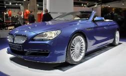 С кабриолетом BMW 4 серии поработали тюнеры из Alpina.