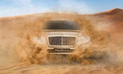 Максимальная скорость внедорожника от компании Bentley перевалит за 300 км/ч