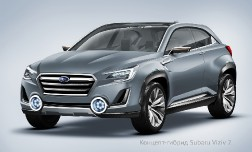 Концепт-гибрид Subaru Viziv 2