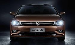 Volkswagen представил новый седан Lamando.