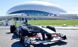 Этап Формулы-1 в России — Сочи.