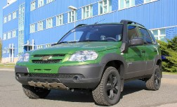 Chevrolet Niva — спецверсия.