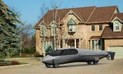 Автомобиль будущего, который сможет летать.