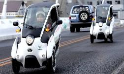 На дорогах Токио появилась трехколесная Toyota