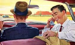 Разговаривать по телефону за рулем опаснее, чем алкоголь в крови водителя