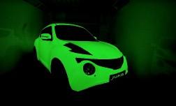 Nissan Juke теперь светиться в темноте