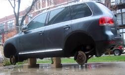 Ретро-криминал - участились кражи запчастей с припаркованных авто