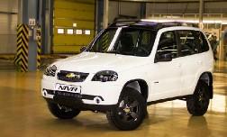 Объявлены цены на спецверсию Chevrolet Niva