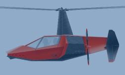 Гибрид автомобиля и вертолета VENTOCOPTER покажут на выставке HeliRussia 2017 в Москве