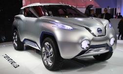 Nissan готовит новинку - электромобиль на основе Leaf