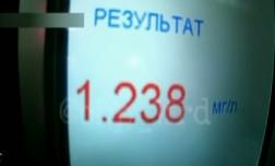 В Краснодарском крае пьяная автоледи шокировала инспекторов ДПС