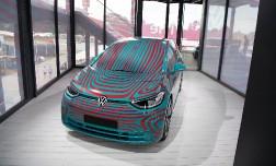 Электрокар Volkswagen ID.3 без камуфляжа