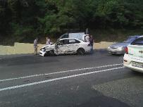 Еще одно ДТП с участием трех авто произошло на Мамайском перевале
