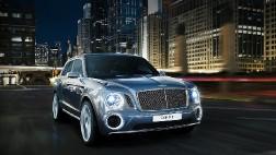 Серийный Bentley EXP 9 F
