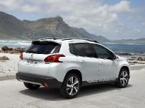 Peugeot показала свой маленький кроссовер Peugeot 2008.