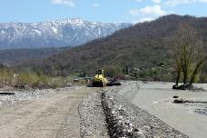 Строительство нового водозабора на правобережье Псоу