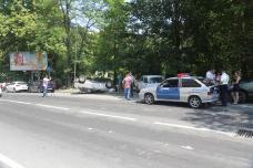 ДТП на Черноморской улице в Сочи.