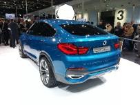BMW Concept X4 - купеобразный кроссовер