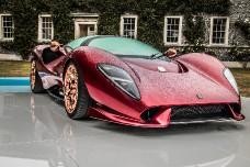 Новый суперкар De Tomaso P72 за 750 тысяч евро