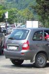 ДТП в Дагомысе, столкнулись три автомобиля