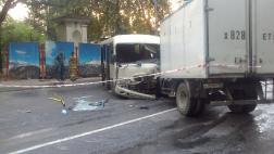 Серьезная авария на Курортном проспекте в Сочи