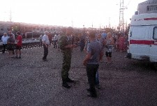 Пассажиры сошедшего с рельсов поезда №140 прибыли в Сочи