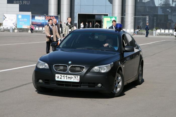Фото машин с мигалками