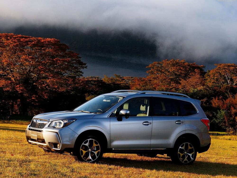 Официальные фото Subaru Forester…