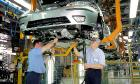 Производство машин в Великобритании упало вдвое