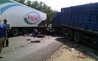В крупной аварии на Кубани погибло 2 человека.