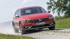 �������� ������� ���������� VW Passat � ����������� ������� Alltrack
