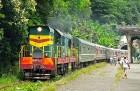 Ретро-поезд отправляется в путь, он свяжет Туапсе, Сочи и Гагру