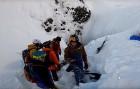 B Сочи на Красной Поляне лыжник сломал обе руки и ногу, экшн-камера зафиксировала падение