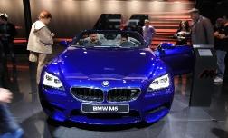 Новые BMW M6 на автосалоне ММАС 2012