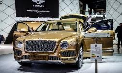 Bentley Bentayga 4х4 — шикарный кроссовер для деловых людей.