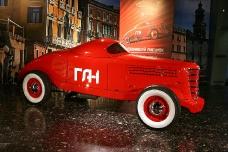 Гоночный автомобиль ГАЗ ГЛ-1. Ретро-автомобили.