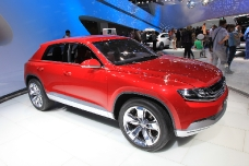 Volkswagen Cross Coupe на автосалоне ММАС-2012