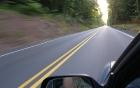 Обучение вождению — движение по прямой