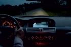 Безопасная езда на автомобиле в темное время суток с тепловизором.