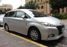 Обзор автомобиля Toyota Wish.